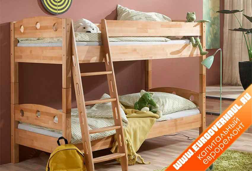 Как сделать двухъярусную кровать своими руками по схемам и чертежам.