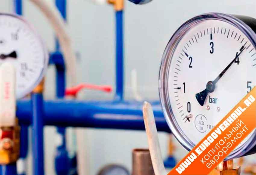 Регулятор давления воды в системе водоснабжения.