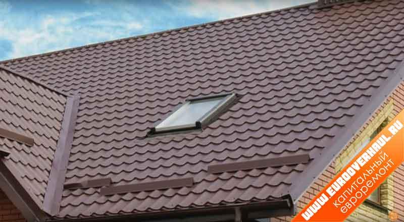 Пластинчатые снегозадержатели на крышу.