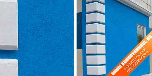 Отделка фасадов домов современными материалами фото.