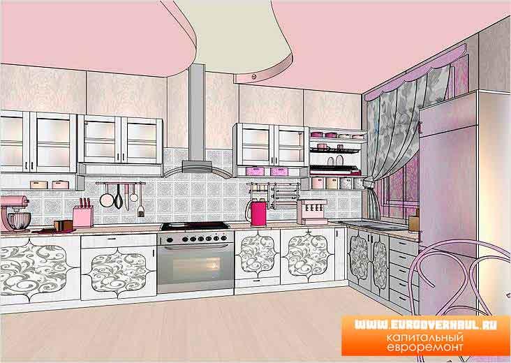 Из чего сделать кухонный гарнитур